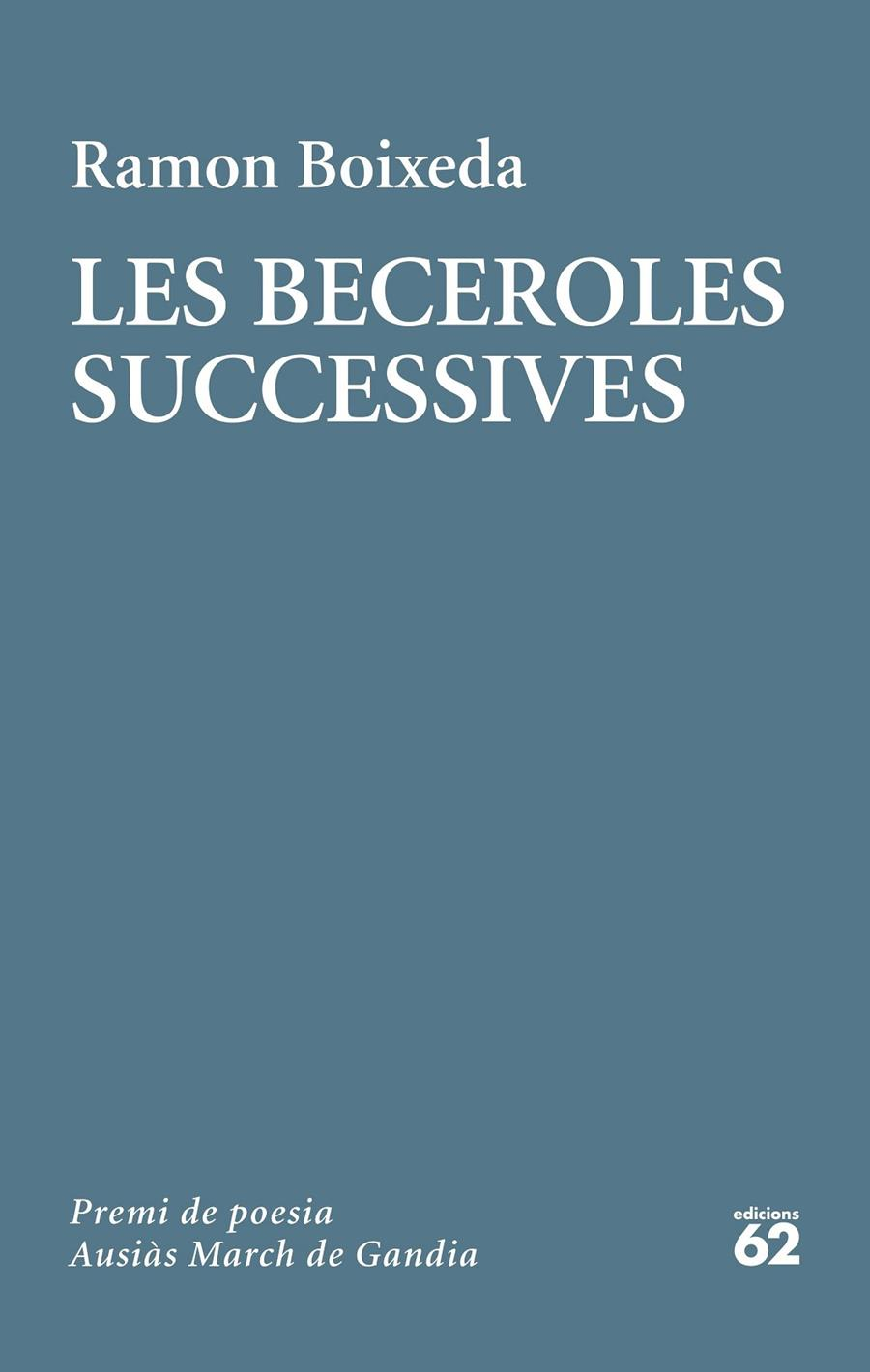BECEROLES SUCCESSIVES | 9788429778236 | BOIXEDA, RAMON